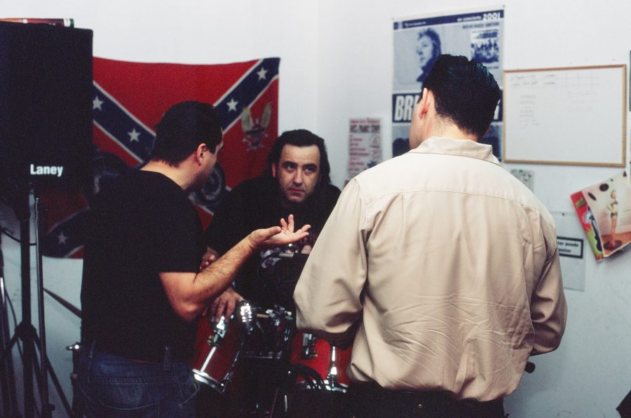 Charlando sesión grabación