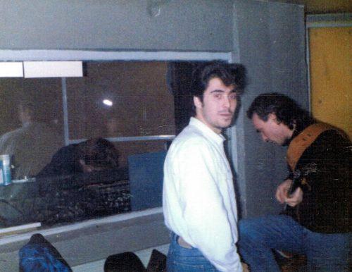 Con Sergio Andrés