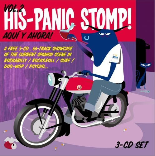 Portada HisPanic Stomp 2006