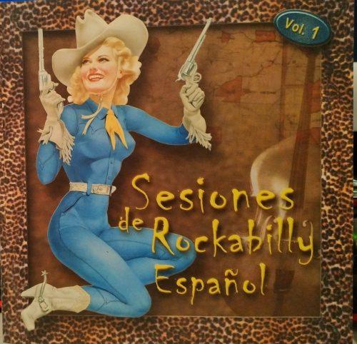 Portada Sesiones Rockabilly Español 1995