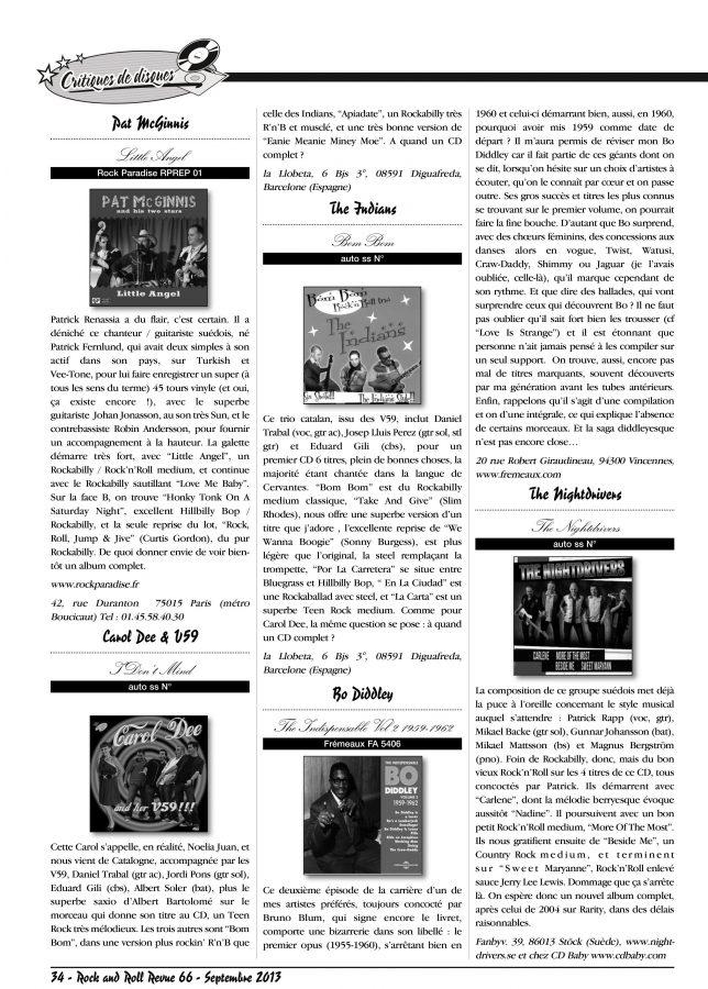 Pascal Boyard para la revista Rock & Roll Revue